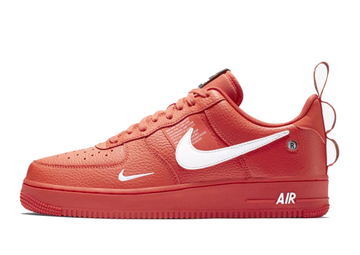 nike air force 1 rojas y negras