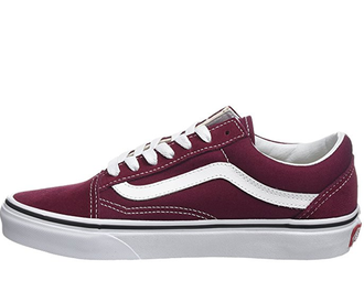 Vans Old Skool Color Vino y Blancas